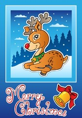 Christmas theme greeting card 3