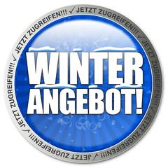 Winterangebot! Button, Icon