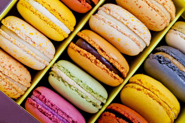 Self adhesive Wall Murals Macarons French macarons