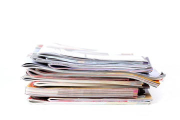 Batch of magazines