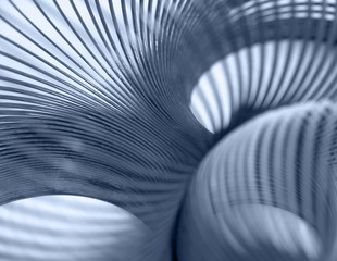 Photo Blinds Spiral metallic spiral abstract