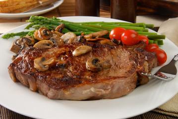 Succulant Steak Dinner