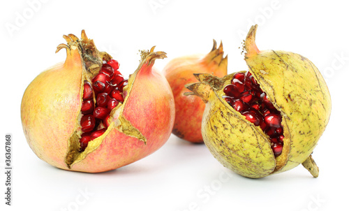 Grenades ouvertes fruits m rs photo libre de droits sur la banque d 39 images image - Acheter des grenades fruits ...