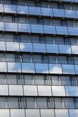 modern cloud window building