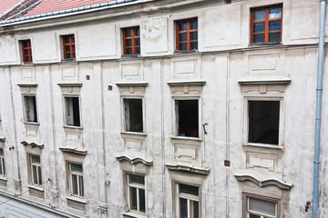 Immeuble en rénovation