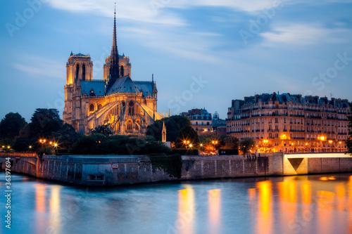 Wall mural Cathédrale Notre Dame de Paris, France