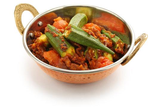 bhindi masala, okra curry