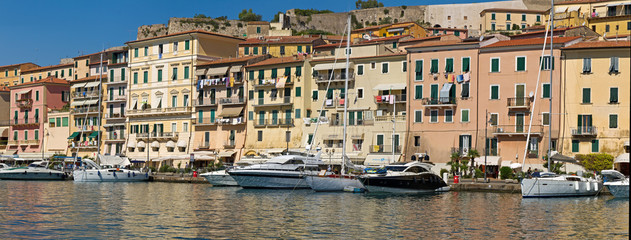 Hafen von Portoferraio, Insel Elba