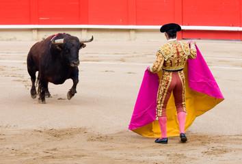 Foto op Aluminium Stierenvechten Bullfighting in Barcelona