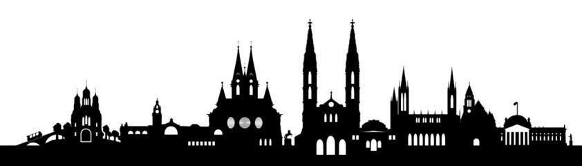 Wiesbadener Skyline