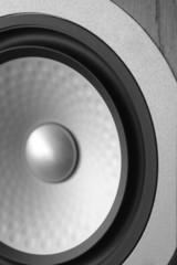 modern speaker detail