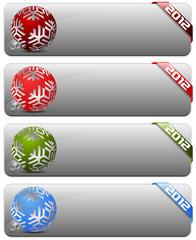 2012 buttons set