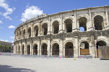 Roman Amphitheater in Nimes, France