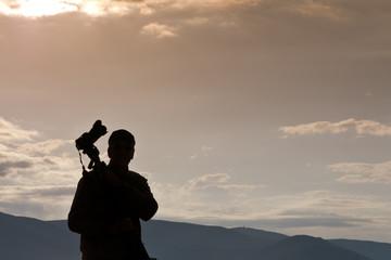 Fototapeta fotografo professionista obraz