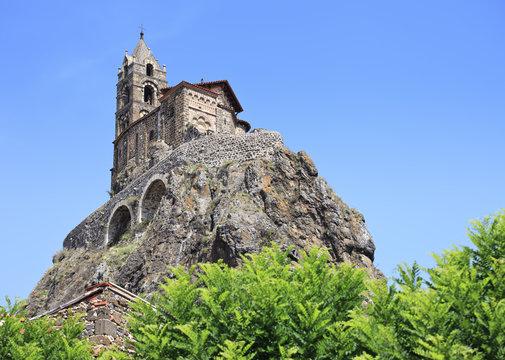 Chapelle Saint Michel de Aiguilhe, Le Puy en Velay, France