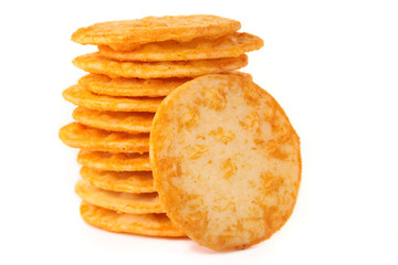 Rice crackers.