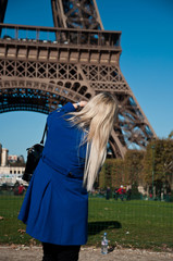 touriste à Paris