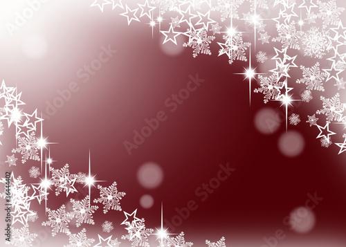 Weihnachtlicher hintergrund schnee rot stockfotos und for Weihnachtlicher hintergrund