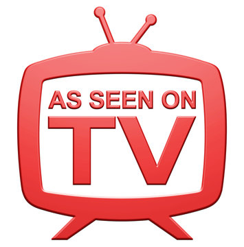 """""""As Seen On TV"""" Icon"""