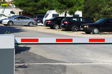 Guarded car park