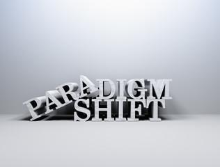 Pradigm shift