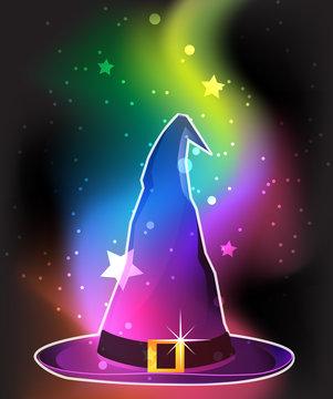 Transparent witch hat