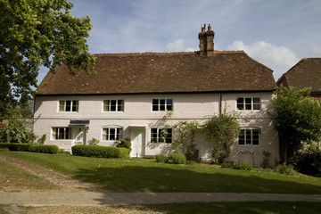 Traditional period English cottages