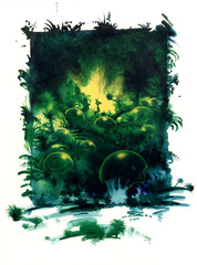 mystic jungle theme
