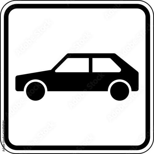 Quot Auto Pkw Parkplatz Kfz Schild Zeichen Symbol Quot Stockfotos