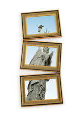 Picture frames with statue of liberty