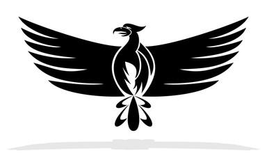 Phoenix bird - vector illustration