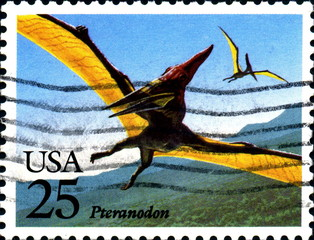 Pteranodon. US Postage.