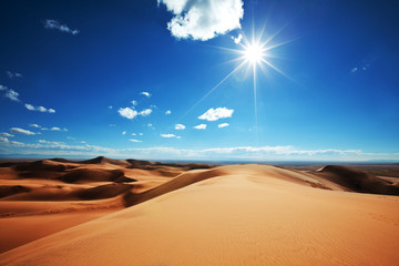 Photo sur Toile Desert de sable Dunes