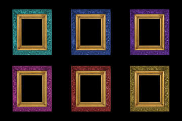 Isolated colour frames