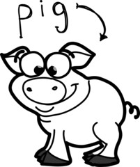 мультфильм свинья
