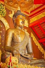vintage buddha image