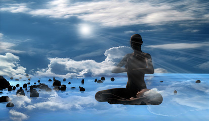 Meditation on heavenly space