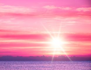 Colorful Sunset Liquid Gold of Sunset