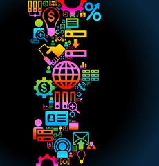 background business symbol