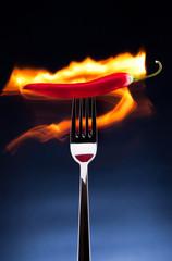 burning chili