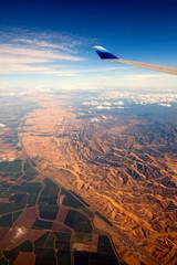 Flug über die USA