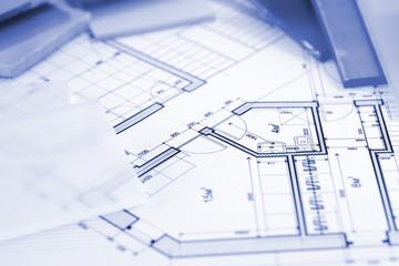 samples of architectural materials - plastics,  and architectura