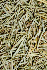 Dried thyme spice