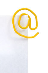 Briefumschlag Büroklammer 2