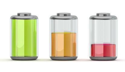 Batteriestand Anzeige