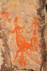 Wall Mural - Aboriginal rock art, Nourlangie, Australia