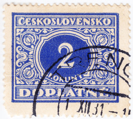 stamp printed in Czechoslovakia
