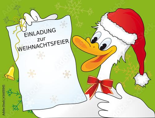 """einladung zur weihnachtsfeier"""" stockfotos und lizenzfreie vektoren, Einladung"""