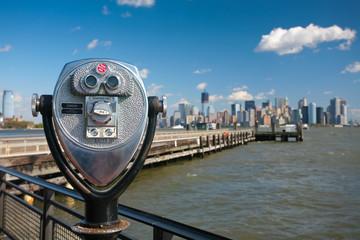 Manhattan from Ellis Island