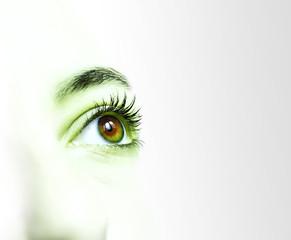 occhi verde